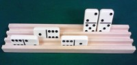 Wood Domino Rack